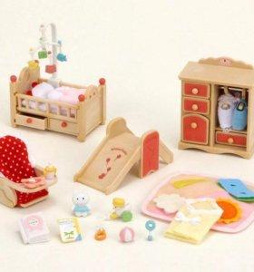 Sylvanian Families(детская комната)
