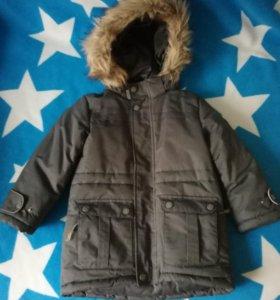 Куртка зимняя удлиненная для мальчика Barkito 98