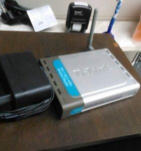 БУ Wi-Fi роутер D-link DI-524/Wi-Fi