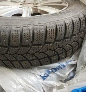 Зимние шины Tigar Sigura Stud R14  4 шт. б/у