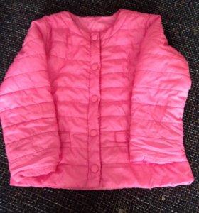 Курточка на девочку 12-24 месяца