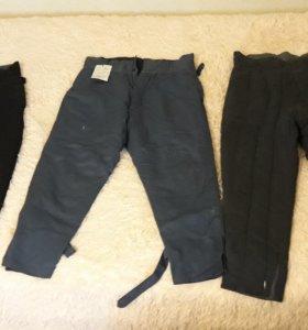 Ватные штаны теплые,новые.
