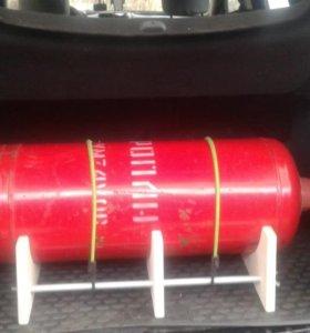 Для перевозки газового баллона в авто