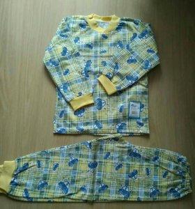 Пижама теплая на рост 110-116 см