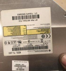 DVD пишущий привод для ноутбука