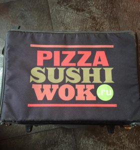 Термос сумка для доставки пицци!