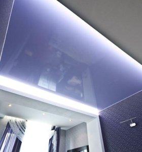 Самые красивые натяжные потолоки