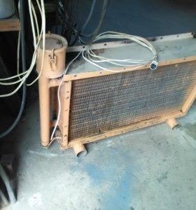 Обогреватель электрический жидкостной .