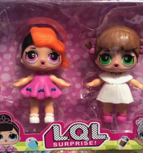 Набор больших кукол ЛОЛ