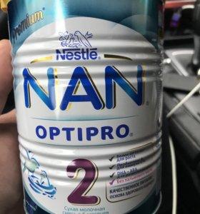 Сухая молочная смесь Nestle Nan optipro 2