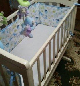 Детская кроватка Гандылян Лили.