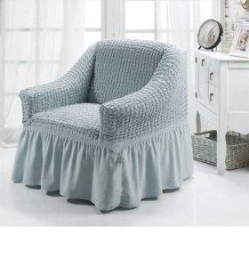Новый чехол на кресло