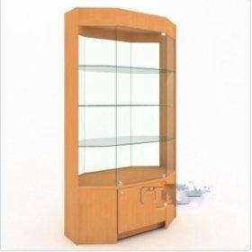 Шкаф-витрина размеры 120x58x205