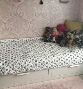 Кровать Бримнес ИКЕА