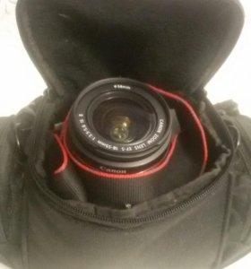 Canon EOS 1000D Kit 18-55 (черный)