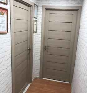 Межкомнатная дверь ЭКО шпон 3D Мюнхен -04