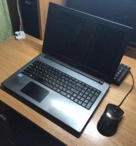 """15.6"""" Ноутбук DNS 0803082 черный, модель с15а"""