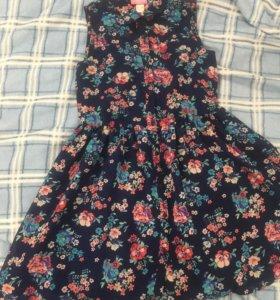 Платье для девочки 9 лет, 134 см
