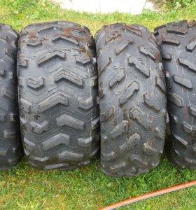 Dunlop kt 425 25r12 комплект от yamaha grizzly 700