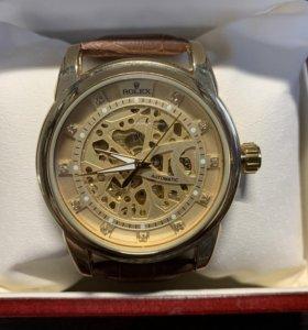 Часы Rolex Skeleton Gold