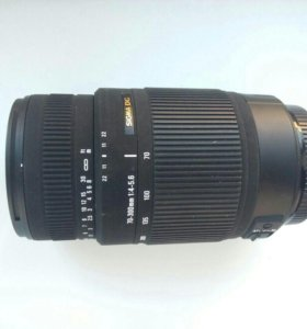 Фотооб'ектив Sigma 70-300 for Canon