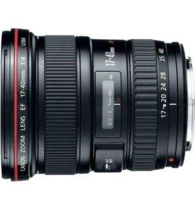 Фотооб'ектив Canon EF 17-40
