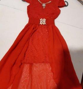Вечерние детское платья 5-7 лет