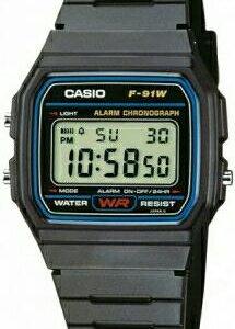 Новые часы CASIO F-91W-1Q