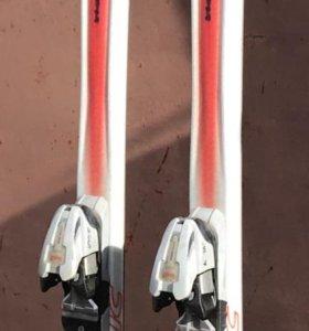 Горные лыжи, ростовка 190 см, ботинок нет.
