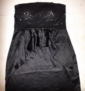 Черное платья 44-46