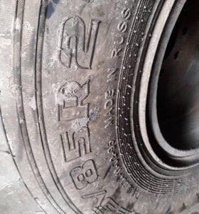 колесо от вездехода Камаз