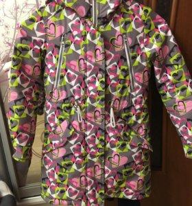 Демисезонная куртка в отличном состоянии!