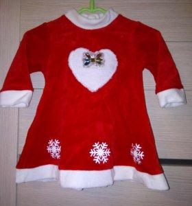 Новогодний костюм для самых маленьких
