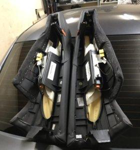 Подушки безопасности заднего сидения