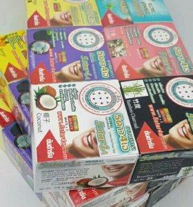 Зубные пасты из Тайланда.