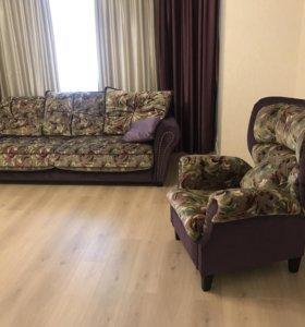Мебельный гарнитур ( диван/ кресло)