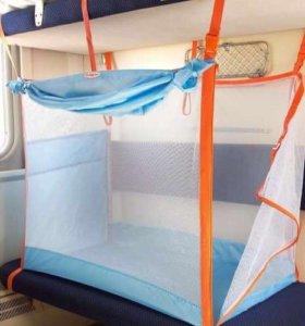 ЖД манеж в поезд для детей Manuni. Новый.