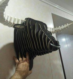 Настенный декор - 3D голова быка