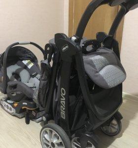 Коляска Chicco Bravo travel system (isofix)
