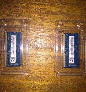 ОЗУ для ноутбука, Ramaxel ddr4 4Gb, 2Gb 2400Mhz
