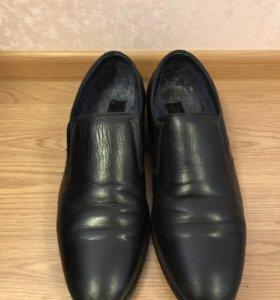 Мужские ботинки зимние, размер 41