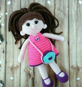 Куколка вязаная (ручная работа)
