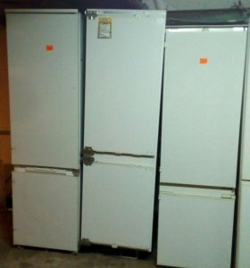Встройка холодильник