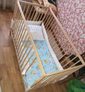 Кроватка детская Фея 101