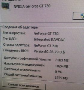 Видеокарта gt 730 2gb