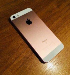 обменяю iphone SE Rose gold RU/A 64Gb