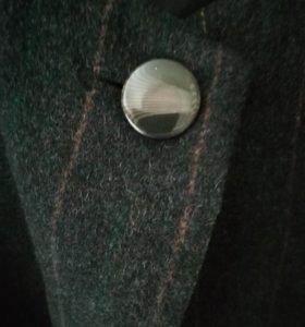 Шерстяной пиджак! 54-56 размер!