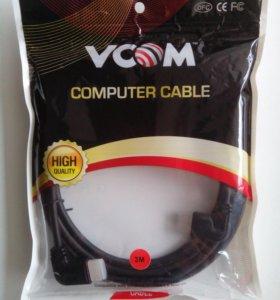 Новый кабель HDMI с угловыми разъемами