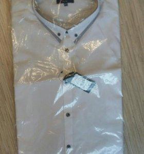 Новая белая рубашка размер XXXL