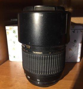 Телеобъектив Tamron AF 70-300mm на Nikon